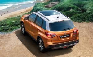 2014 Suzuki Vitara Concept rear