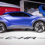 2014 Toyota C-HR Concept Profile