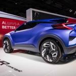 2014 Toyota C-HR Concept rear view
