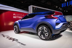 2014 Toyota C-HR Concept rear view