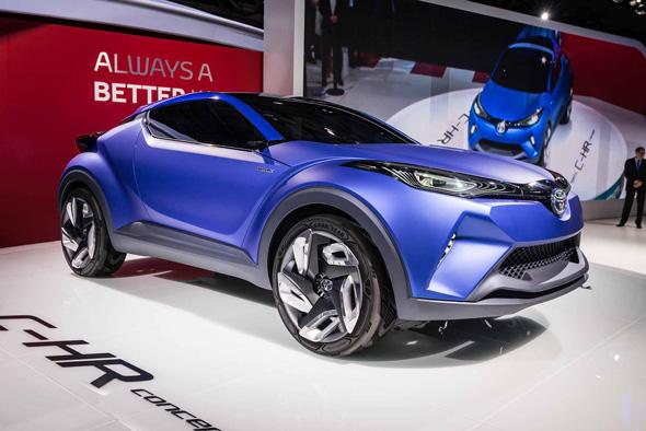 2014 Toyota C-HR Concept