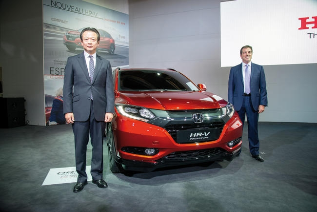 2015 Honda HR-V Paris Debut