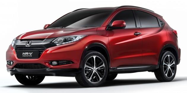 2015 Honda HR-V Prototype