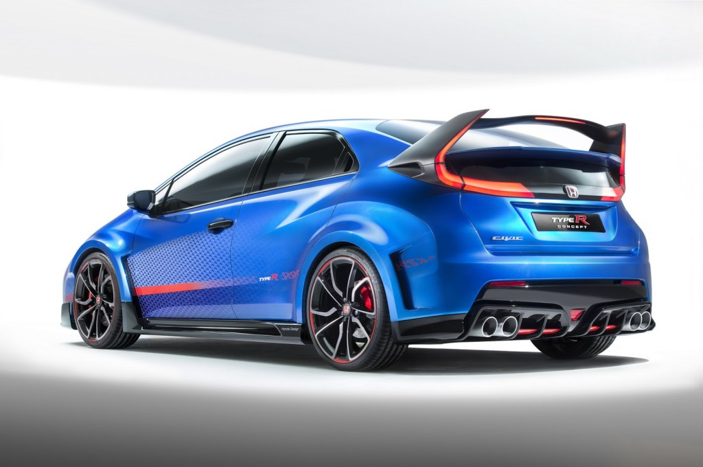 Honda Civic Type-R Concept rear
