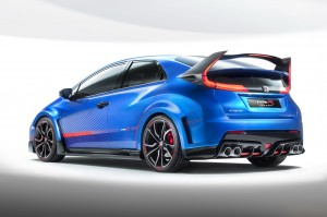 Honda Civic Type-R Concept rear