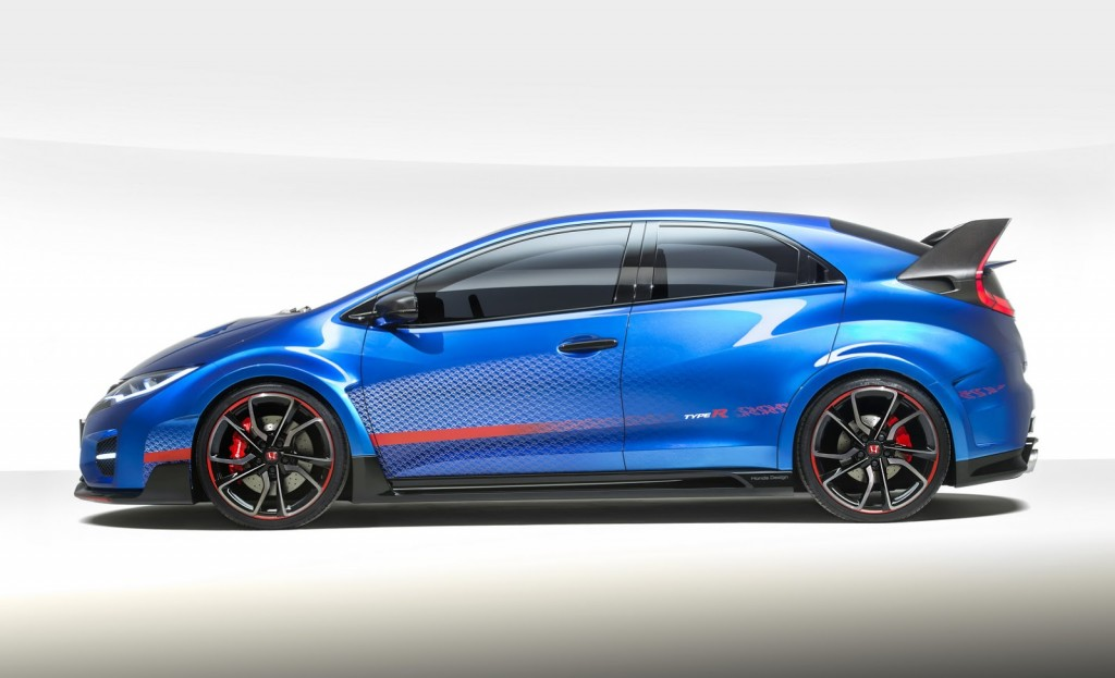 Honda Civic Type-R Hatchback profile