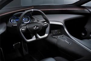 Infiniti Q80 Inspiration Concept interior