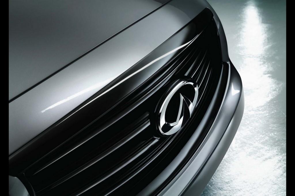 Infiniti QX70 S Design exterior