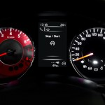 Nissan Pulsar NISMO Concept red tachometer
