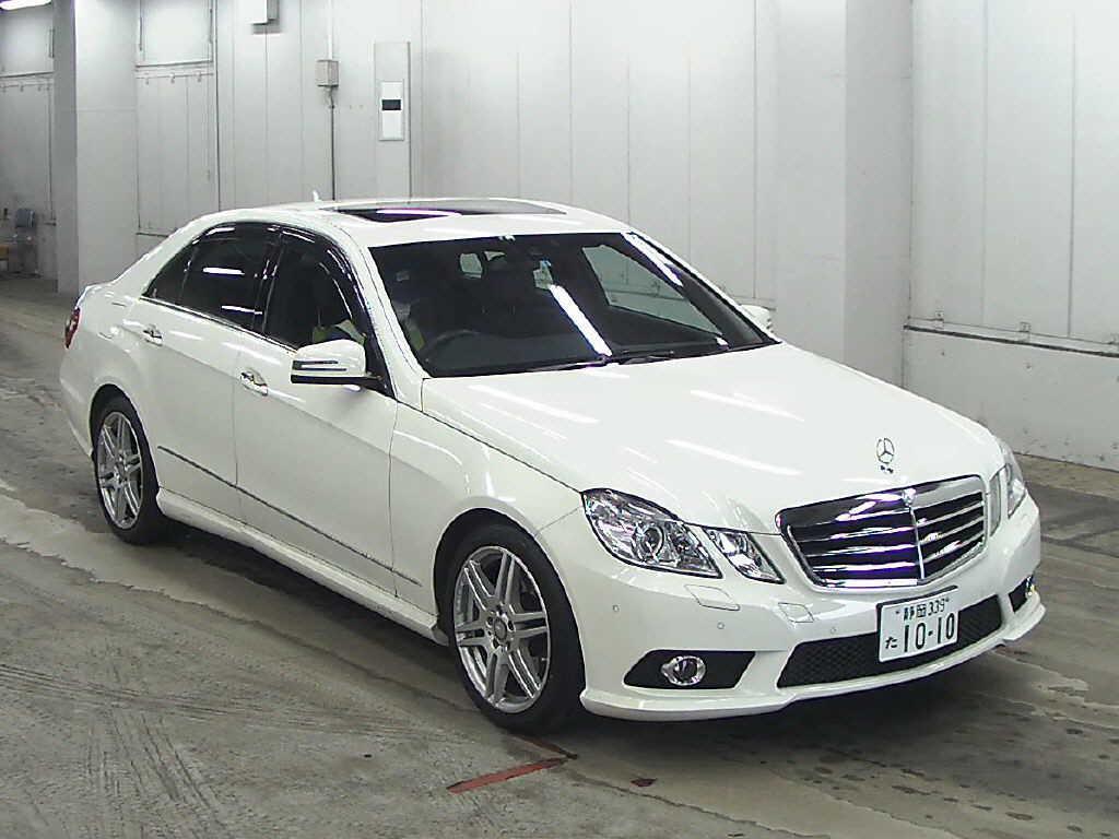 Japanese car auction find 2009 mercedes benz e class for Mercedes benz e class 2009