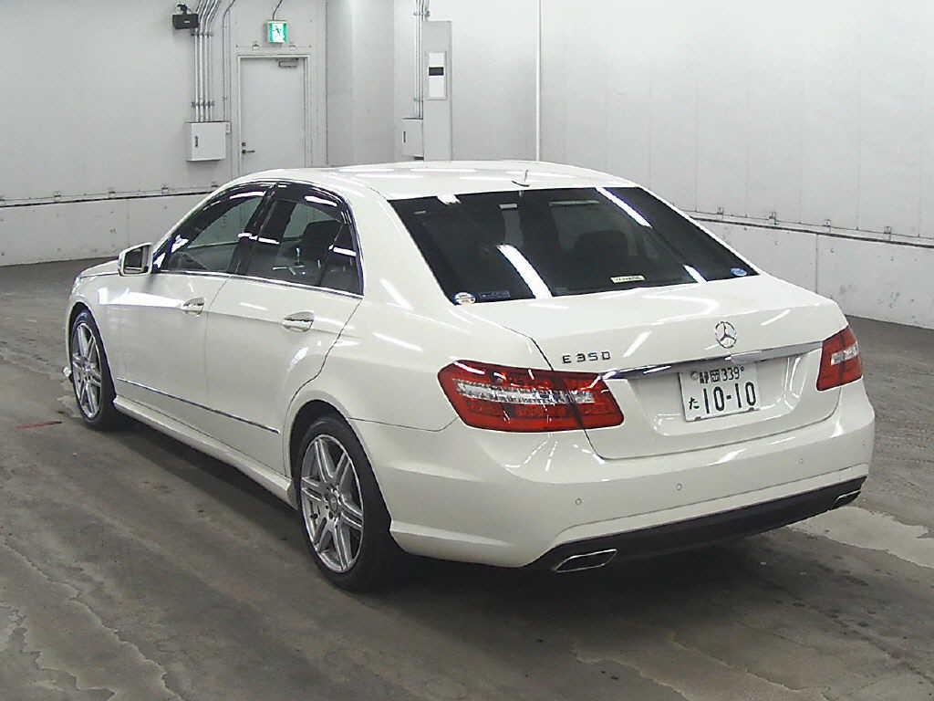 2009 Mercedes Benz E350 rear