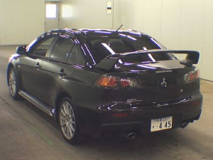 2013 Mitsubishi Lancer Evo auction find