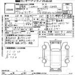 2013 Mitsubishi Lancer Evo auction sheet