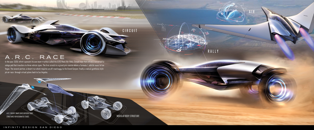 2014 Infiniti SYNPATIQ Multi-form Concept