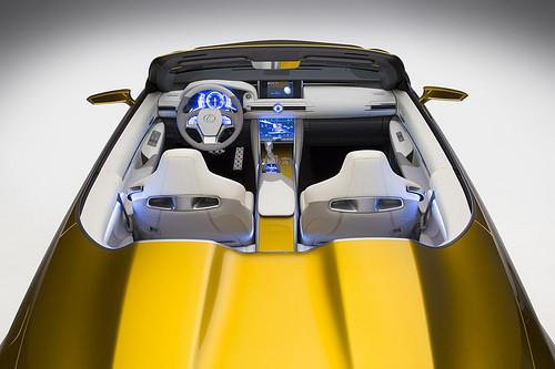 2014 Lexus LF-C2 Concept interior