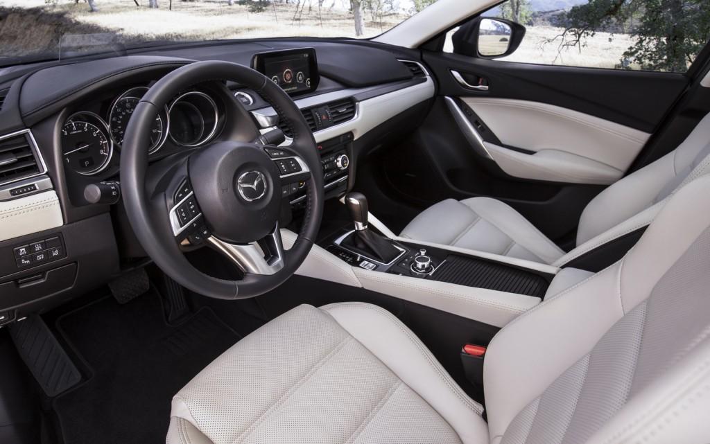 2016 Mazda6 Sedan interior