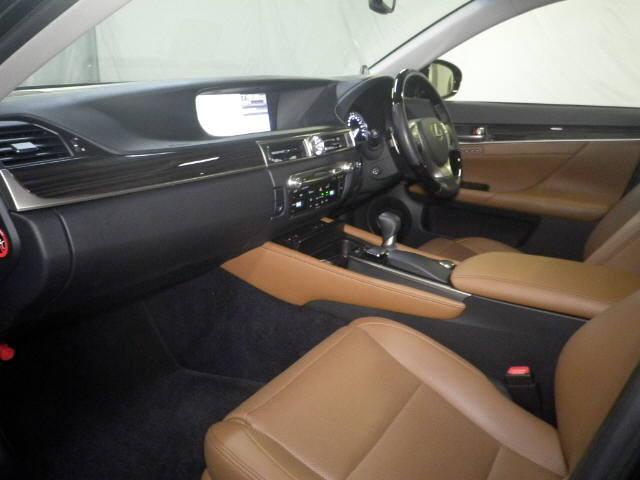 2012 Lexus GS 250 interior