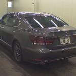 2012 Lexus LS 600h F Sport rear