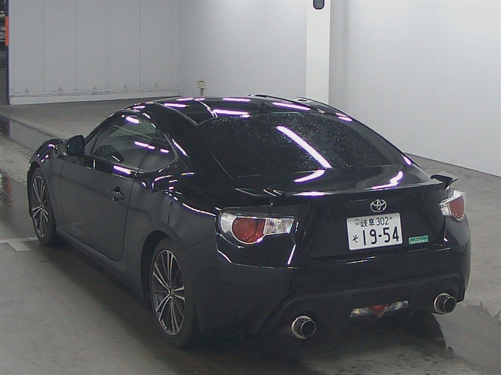 2012 Toyota 86 GT Limited auction find