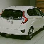 2013 Honda Fit Hybrid rear