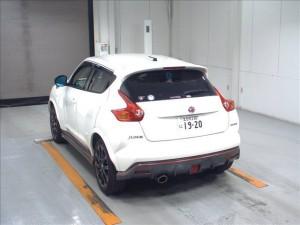2013 Nissan Juke NISMO rear
