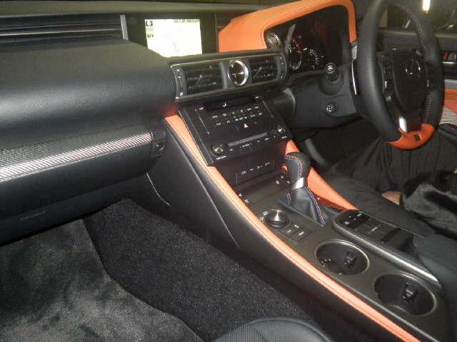 2014 Lexus RC-F interior