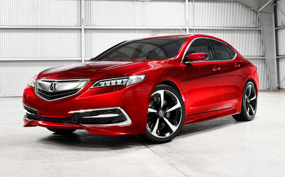 2015 Acura TLX mid-size sedan