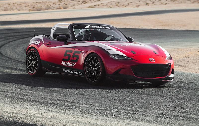 2015 Mazda MX-5 Miata Track Edition