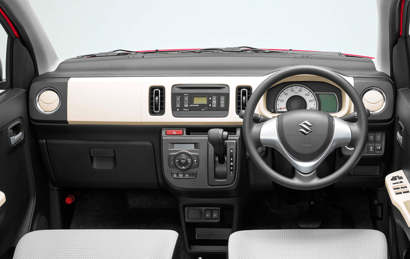 2015 Suzuki Alto kei car interior