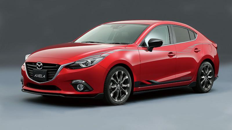 Aftermarket 2015 Mazda 3 Axela Sedan