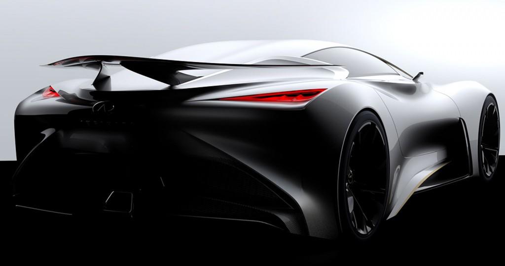 Infiniti GT6 Vision Concept teaser