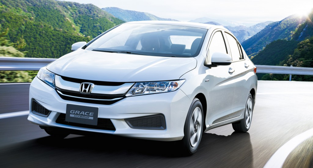all-new 2015 Honda Grace sedan
