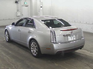 2008 Cadillac CTS auction find