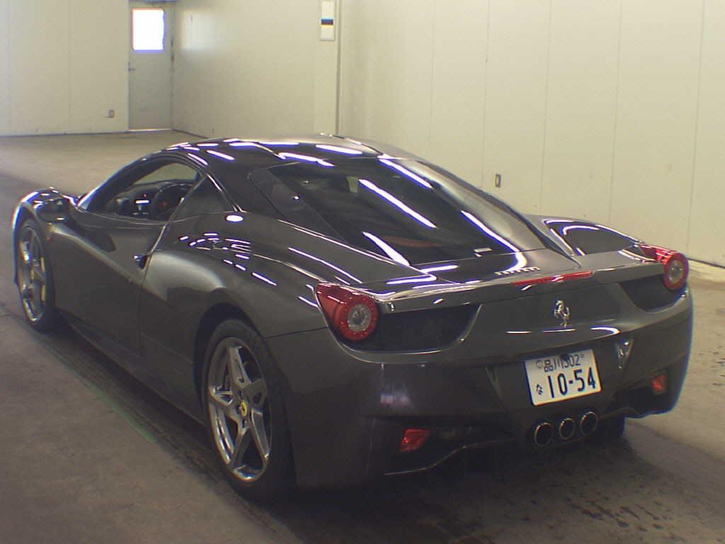 2012 Ferrari 458 Italia auction find