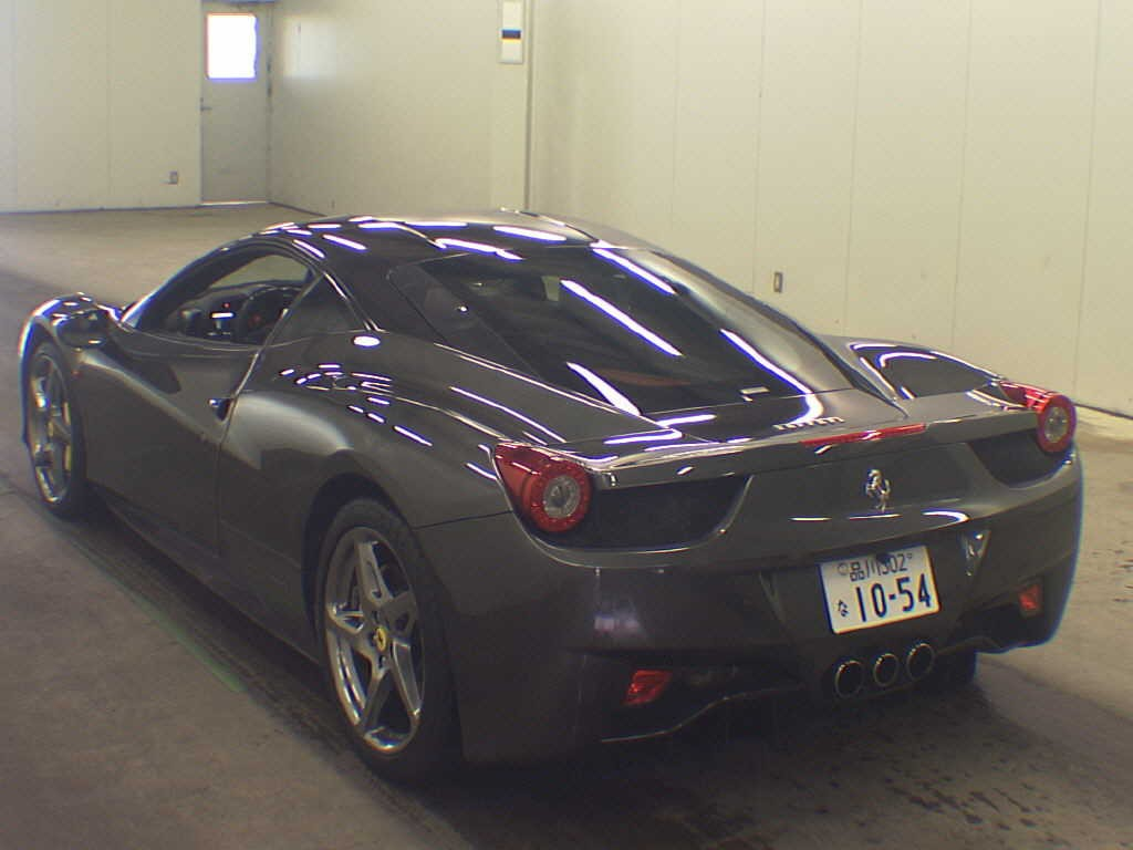 2012 Ferrari 458 Italia auction find