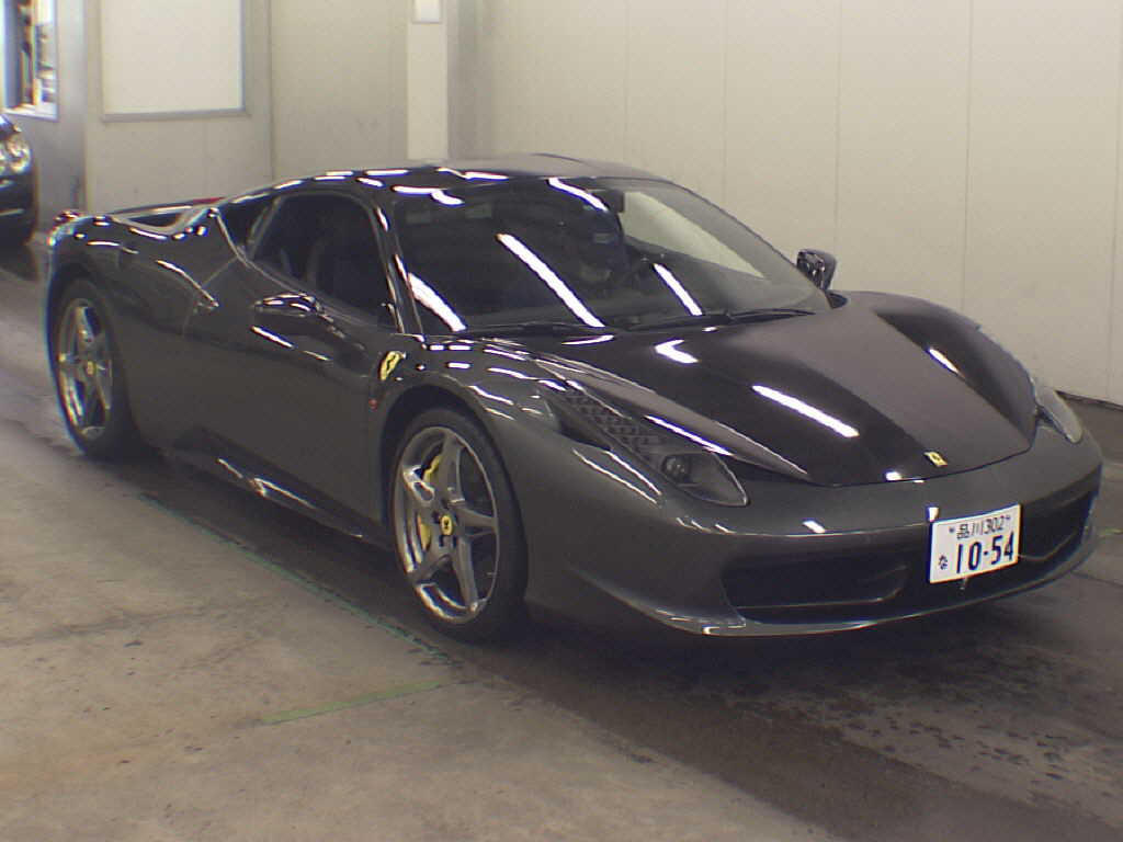 japanese car auction find 2012 ferrari 458 italia japanese car. Cars Review. Best American Auto & Cars Review