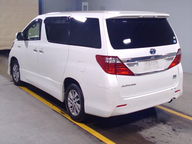2012 Toyota Alphard Hybrid rear