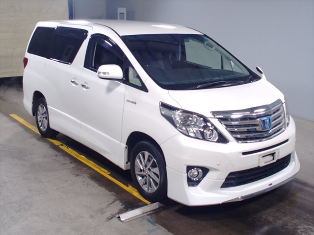 2012 Toyota Alphard Hybrid