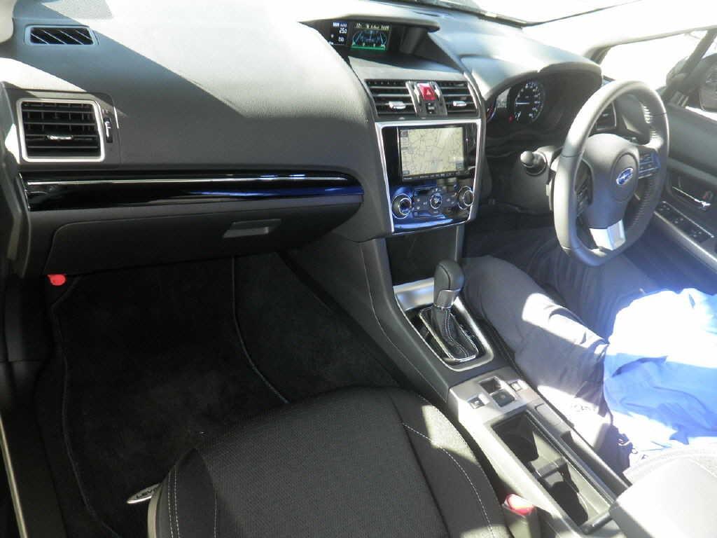 2014 Subaru Levorg interior