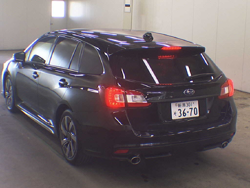 2014 Subaru Levorg rear view