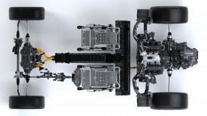 2016 Acura NSX chassis
