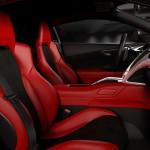2016 Acura NSX human centered interior