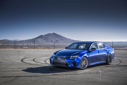 2016 Lexus GS F at Detroit