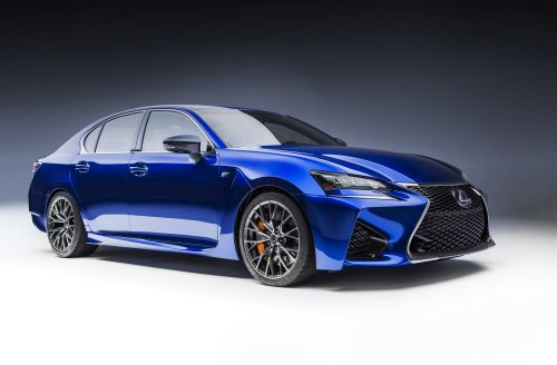 2016 Lexus GS F side-front view