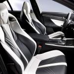 2016 Lexus GS F two-tone interior