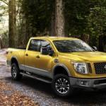 2016 Nissan Titan XD woods