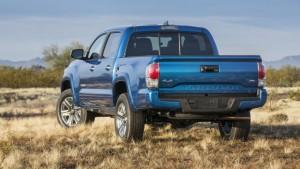 2016 Toyota Tacoma rear view