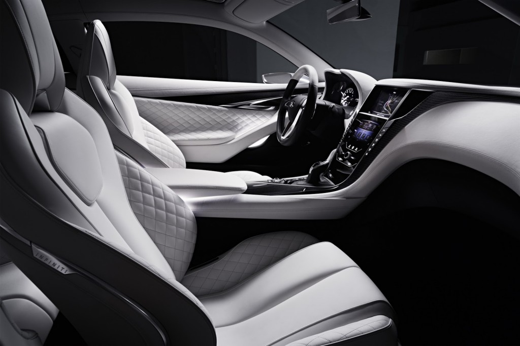 Infiniti Q60 Concept Looking Inside