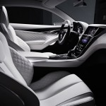 Infiniti Q60 Concept Looking Inside