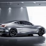 Infiniti Q60 Concept Side-Rear view